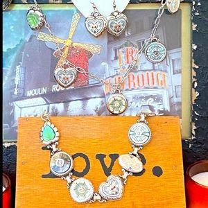 "Brighton ""STITCH IN TIME "" Ultra Rare jewelry set"